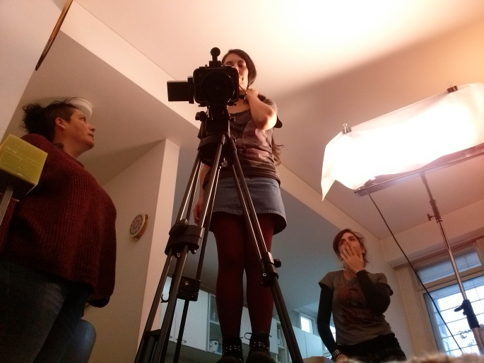 backstage documental femicidio. un caso, múltiples luchas